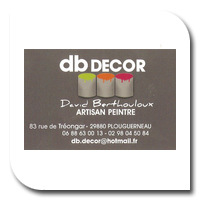 Logo Artisan peintre   DB decor