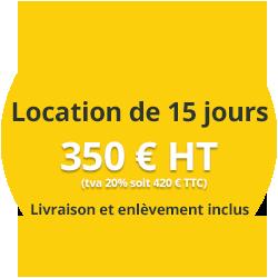 Tarif location exposition
