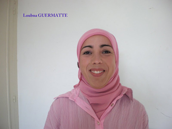 Loubna GUERMATTE - Formation apicultrice au Maroc