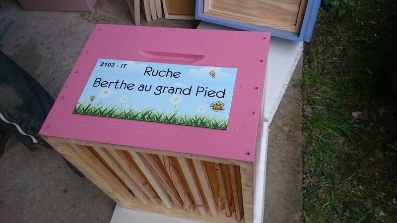 La ruche Berthe au Grand Pied