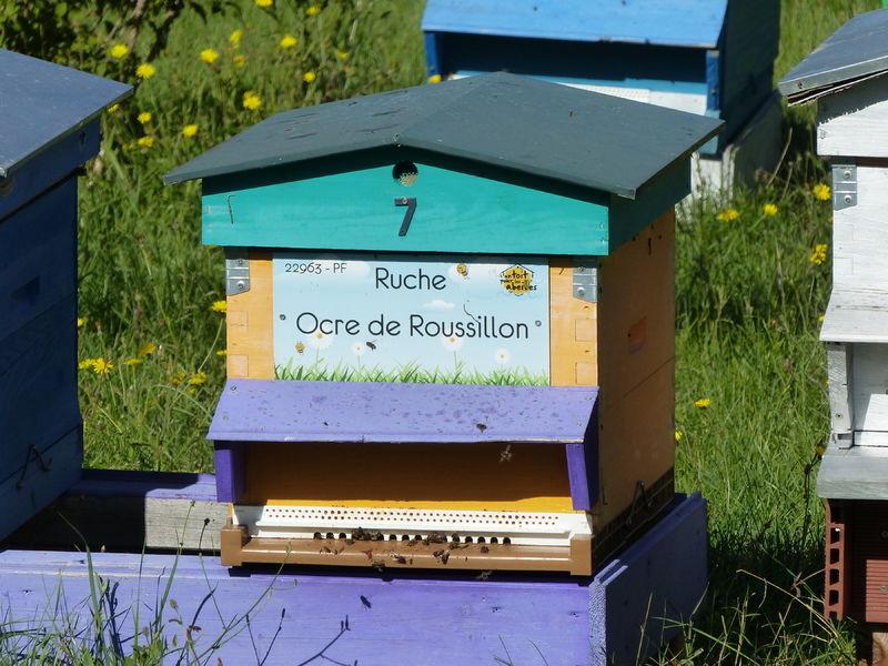 La ruche Ocre de Roussillon
