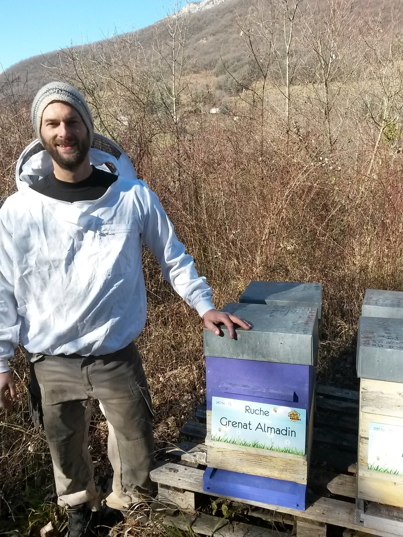 La ruche Grenat Almadin
