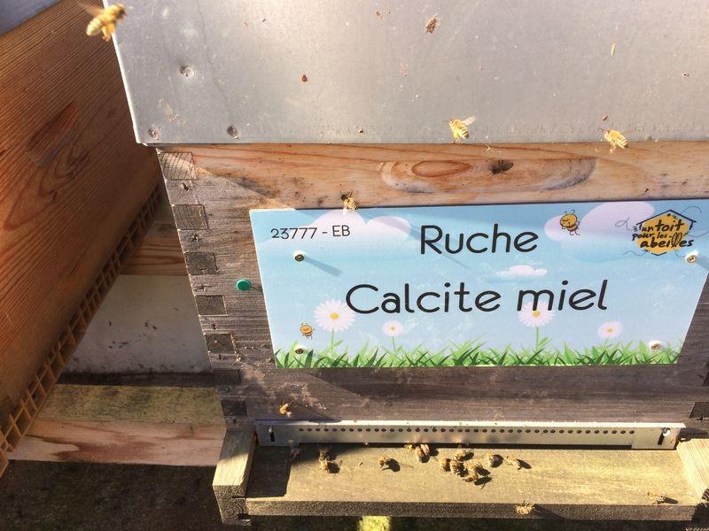 La ruche Calcite miel