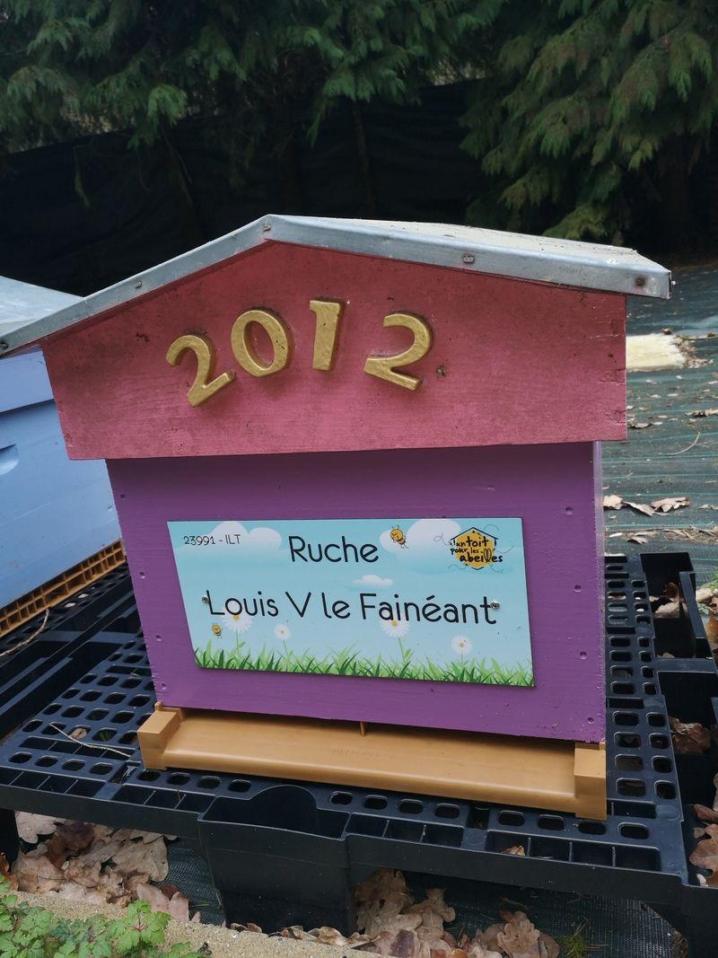 La ruche Louis V le Fainéant
