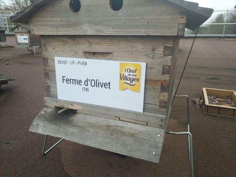 La ruche FERME D OLIVET