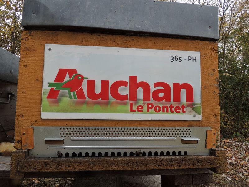 La ruche AUCHAN LE PONTET