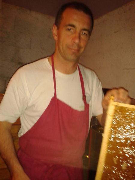 La ruche Croissant fauve